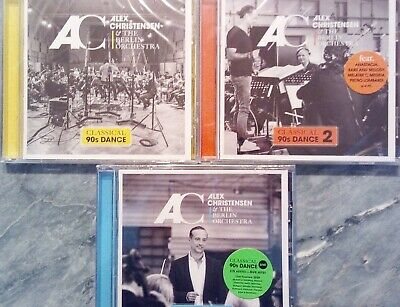 ALEX CHRISTENSEN Classical 90s Dance 1+2+3 (2019)  3 CD  NEU & OVP