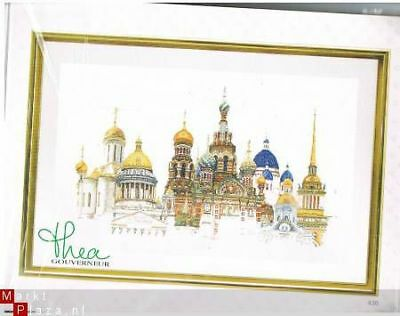 Thea Gouverneur X-stitch kit St. Petersburg 430