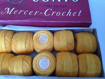 No Coats Aida Crochet Cotton Thread 50g 894 Size 20 Colour Salmon Pink