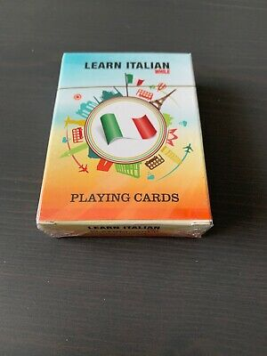 Learn Italian While Playing Cards - 52 most popular ITALIAN Phrases