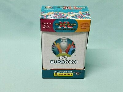 Panini Adrenalyn XL Uefa Euro EM 2020  Classic Mega Tin Box 2 x Limited Edition
