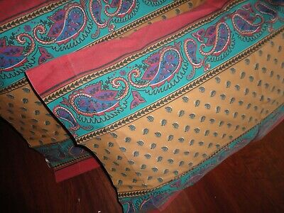 Vtg Floral PILLOWCASES MEDICI Blue Brown 20x30 Lady Pepperell Galleria NIP