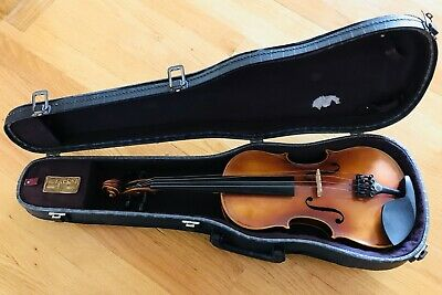 Antique German Violin 3/4 from Early 1900s with Beacon Case