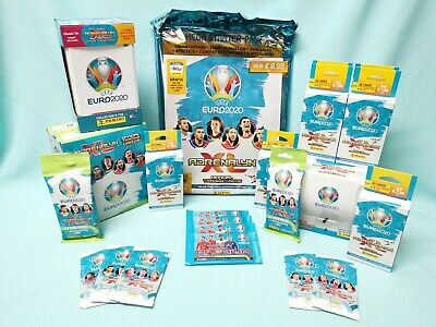 Panini Adrenalyn XL Uefa Euro EM 2020 Starterpack Display Blister Fat-Pack Tin