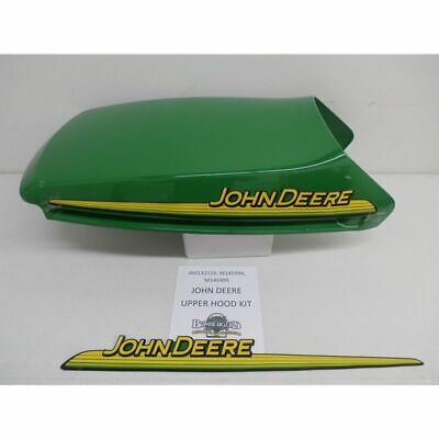 John Deere Upper Hood & Decals - AM132529 - GT245 GX345 LX266 LX280