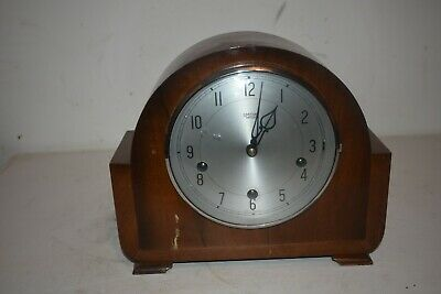 Vintage Smiths Enfield Chiming Mantle Clock.English Made.