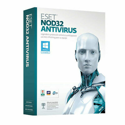 ESET NOD32 Antivirus 2020 -  for Computers, 2 Years-Instant Delivery by message
