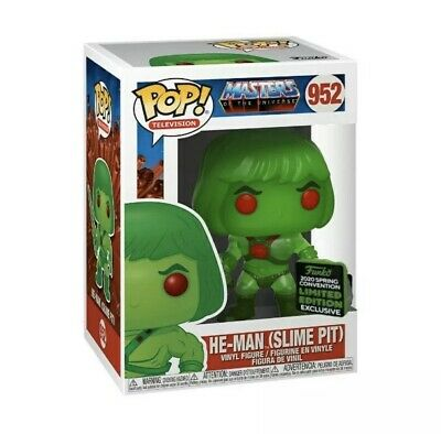 Funko Pop HE-MAN Slime Pit MOTU ECCC *Shared* SPRING EXCLUSIVE