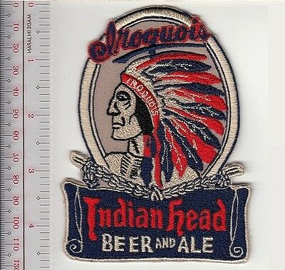 Beer Iroquois Indian Head Beer Ale 1842 Jacob Roos Brewery Lake George Vel hooks