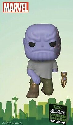 Funko ECCC Shared 2020 Marvel Avengers Thanos Exclusive Preorder