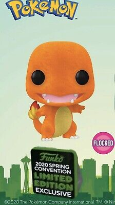 Funko Shared ECCC 2020 Pokemon Flocked Charmander Shared Exclusive Preorder