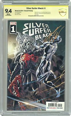 Silver Surfer Black 1H Moore Variant 2nd Printing CBCS 9.4 SS 2019