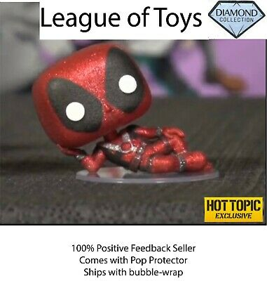 Funko Pop Deadpool Diamond Collection HT Exclusive + 0.5mm Protector Preorder