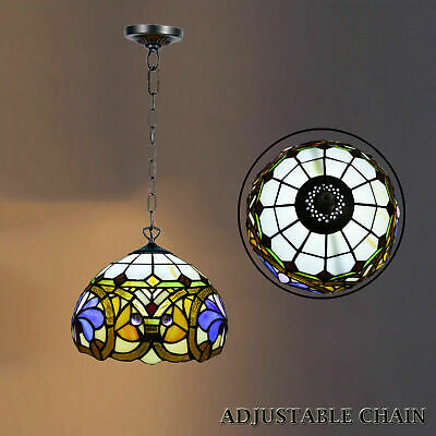 TIFFANY Antique Design Multi Color Home Decor Pendent Lamp Style Hand Crafted UK