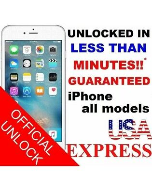 Premium FACTORY UNLOCK SERVICE AT&T CODE ATT for IPhone 5S 6 6s 7 8 X XR 11 PRO