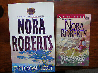 Complete Nora Roberts Donovan Legacy Series in 2 Paperback Books
