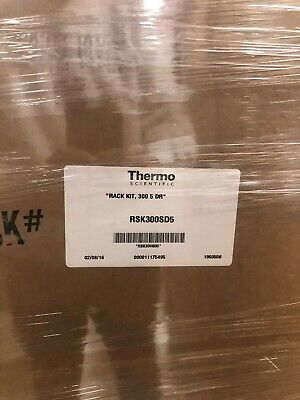 Thermo Scientific Complete Shelf Kit - Racks and Boxes RSK300SD5- NEW IN BOX