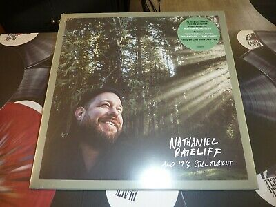 Nathaniel Rateliff - And It's Still Alright Ltd Coke Bottle Clear Lp Mint/Sealed