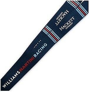 LANYARD Williams Martini Racing Passholder KeyClip Neckstrap Formula One 1 NEW!