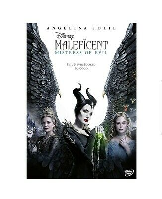 Disney's Maleficent: Mistress of Evil (DVD) PRE ORDER  delivery 17th February