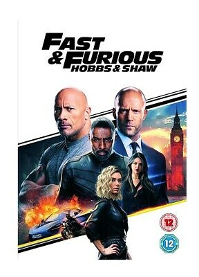 Fast and furious hobbs and shaw (DVD) same day dispatch