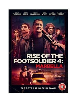 Rise of the Footsoldier 4: Marbella (DVD) PRE ORDER for delivery on 06.01.2020