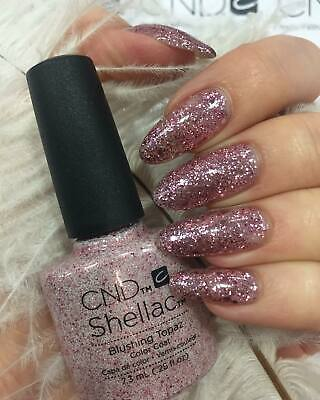 CND Shellac Blushing Topaz Color LED Gel UV Neu Nagellack Top Super Qualität