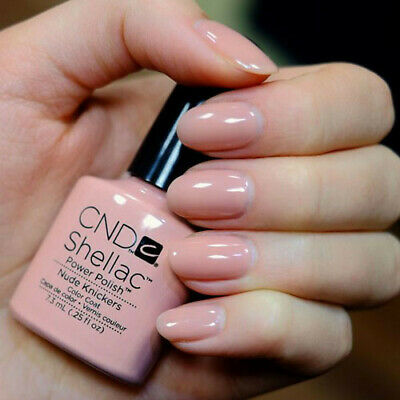 CND Shellac Nude Knickers Color LED Gel UV Neu Nagellack Top Super Qualität