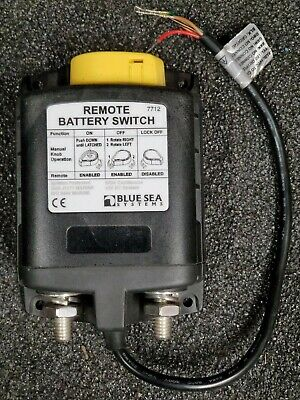 Blue Sea 7703 ML-Series Remote Battery Switch 24VDC