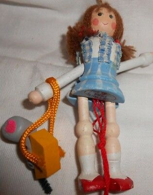 Wizard Oz Dorothy Todo  Christmas Tree Ornament Lot Vtg 1984 Kurt Adler
