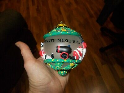 Very Rare Rockettes Radio City Music Hall Christmas Ornament