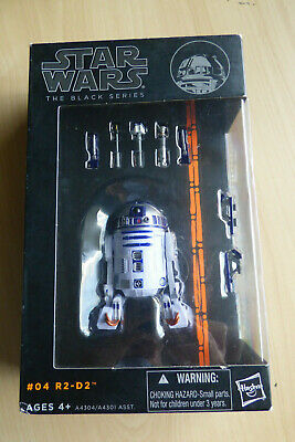 Star Wars The Black Series #4 R2-D2 Hasbro action figure Orange line