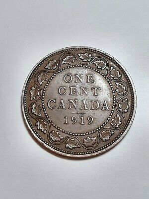 Lot of 3 Canadian Coins pre 1920's  Silver Included 5 Cents Large Penny