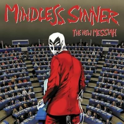 MINDLESS SINNER- The New Messiah CD ovp/sealed 80ies SWE METAL CULT ala HEAVY LO