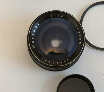 Marexar   2.8/28mm Wide angle  Lens M42 Pentax Screw Mount
