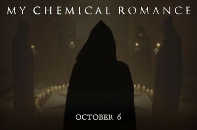 2 My Chemical Romance Tickets Oakland October 6th Section 229 Row 4