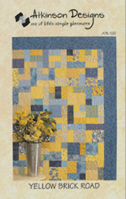 Yellow Brick Road QUILT KIT w/Benartex & others