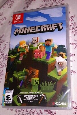 Minecraft Nintendo Switch new sealed