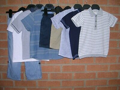 NEXT GAP MAMAS & PAPAS etc Boys Summer Bundle Tops Shorts Jeans Age 2-3 98cm
