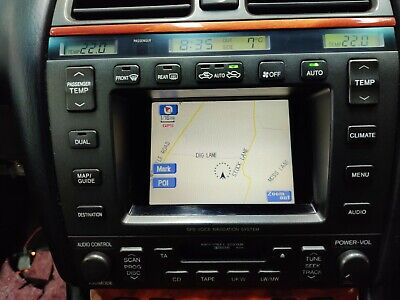Lexus LS400 MK4 sat nav audio screen
