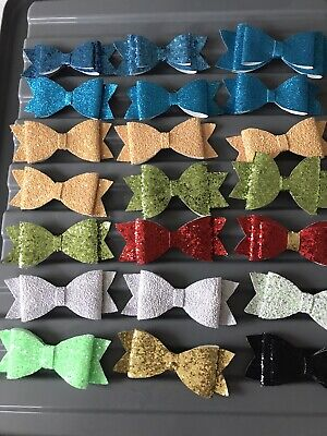 Hair bows 50 Pre-Made For Resale, Joblot, Wholesale