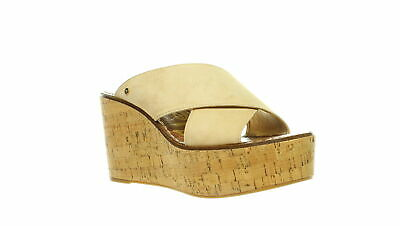 Sam Edelman Womens Darlene Natural Naked Sandals Size 8.5