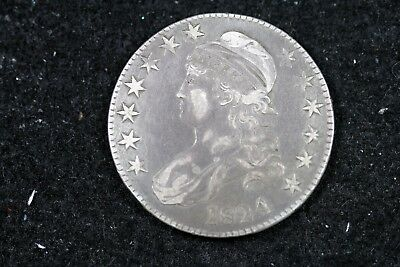 Estate Find 1824/4 - Capped Bust Half Dollar!!  #H19038