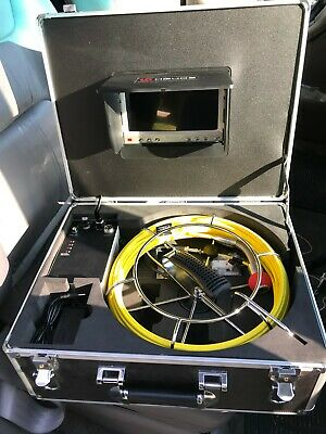 HBUDS Pipe Inspection Camera, Pipeline Drain Sewer Industrial Endoscope.