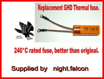 New- Ghd 240*C Tf Compatible Thermal Fuse. Uk Seller.