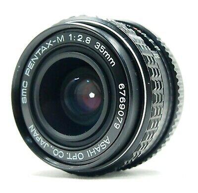 [AS IS] SMC Pentax M 28mm f3.5 Manual Lens For K Mount from Japan #10497