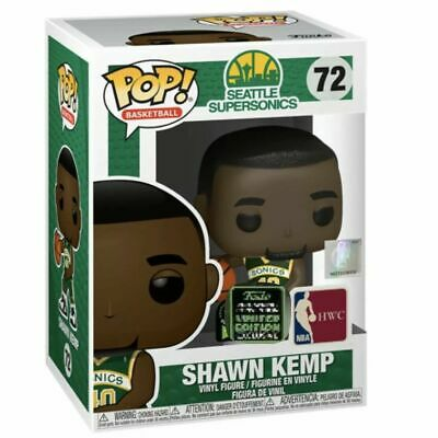 Funko POP NBA SHAWN KEMP ECCC SHARED Exclusive PREORDER W/ PROTECTOR