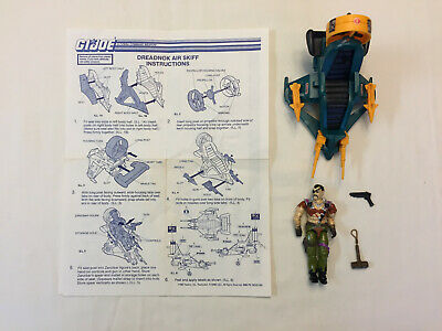 GI JOE 1987 RAH Parts DREADNOK ZANZIBAR SKIFF Vintage Vehicle TURBINE PART