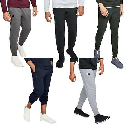 Under Armour UA Mens Rival Fleece Elasticated Joggers Sweatpants Bottoms Pants