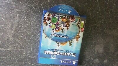 Plants vs Zombies: Battle for Neighborville PS4 Playstation 4 Good Condition